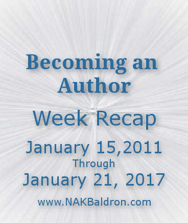 Week Recap January 21st, 2017