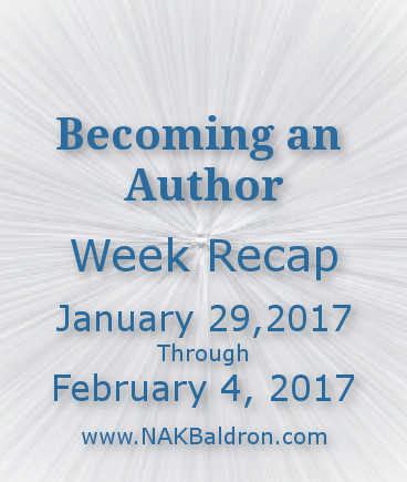 Week Recap February 4th, 2017