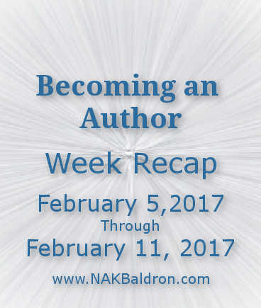 Week Recap February 11th, 2017