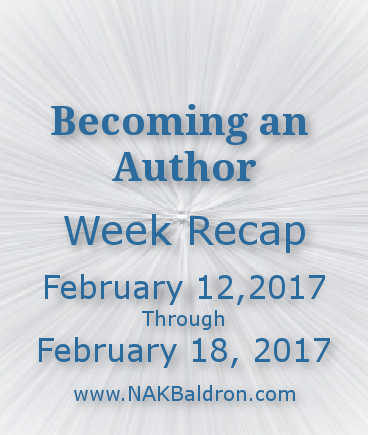 Week Recap February 18th, 2017