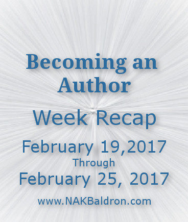 Week Recap February 25th, 2017