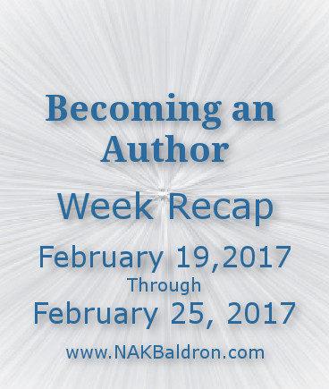 Week Recap February 25th, 2017