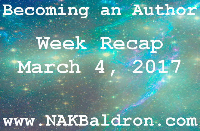 Week Recap March 4th, 2017