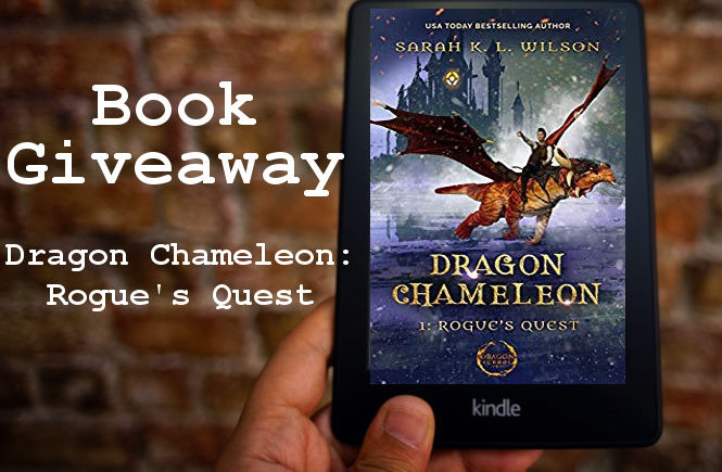 Book Giveaway: Dragon Chameleon Rouge's Quest