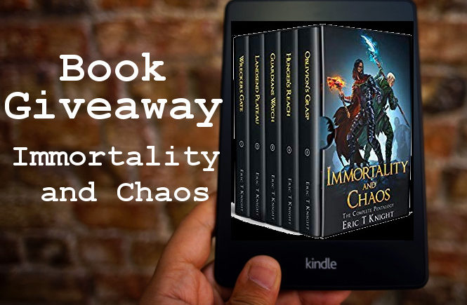 Book Giveaway: Immortality and Chaos