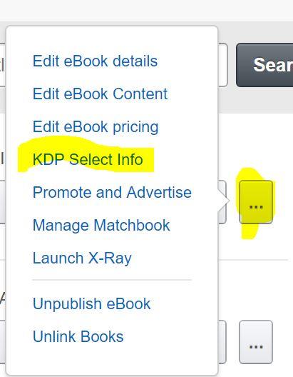 Options KDP Select