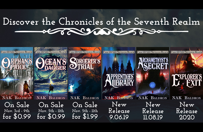 Chronicles of the Seventh Realm Sale