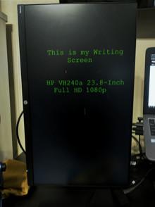 Writing Screen
